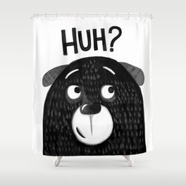 HUH PUPPY Shower Curtain