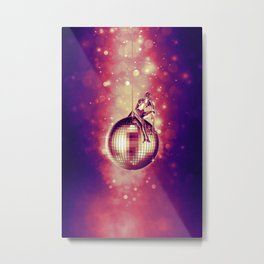 Tired of Disco Metal Print