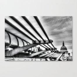 The Millenium Bridge Canvas Print