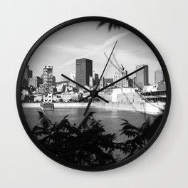 montréal • photography Wall Clock
