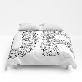 Uncultivated Rabbits Comforters