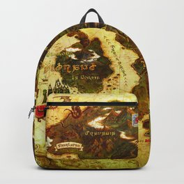 Eorzea map Backpack