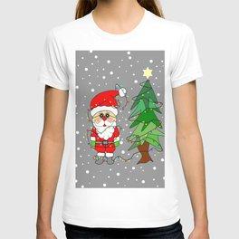 Playful Santa T-shirt