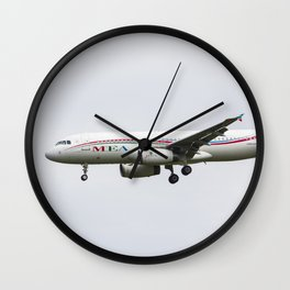 Middle Eastern Airlines Airbus Wall Clock