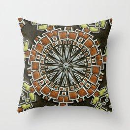 Sandstone Mosaic Throw Pillow