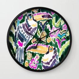 TOUCAN PARADISE Wall Clock