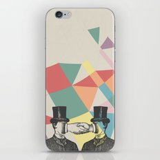 Join Hands iPhone & iPod Skin