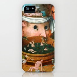 "Hieronymus Bosch (school) ""The Vision of Tnugdalus"" iPhone Case"