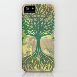 Color My World Green iPhone Case