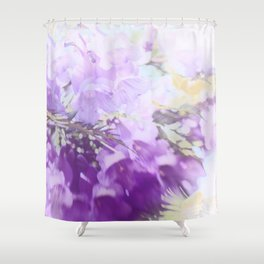 Fading Trumpets Shower Curtain
