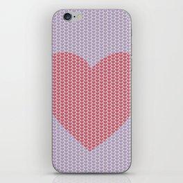 Heart Overload Valentine Issues iPhone Skin