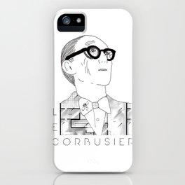 Le Corbusier iPhone Case