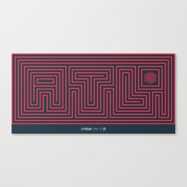 ATL Canvas Print