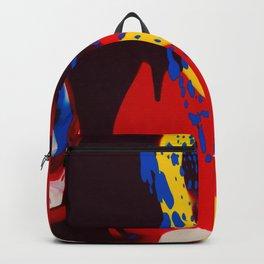 Acrylic Paint Backpack