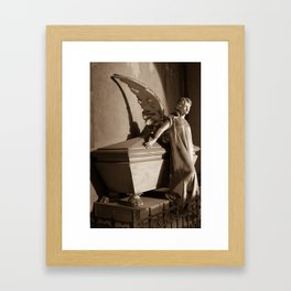 Milano Angel Framed Art Print