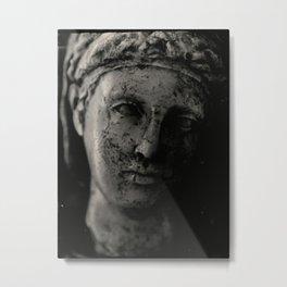 Marble Bust Metal Print