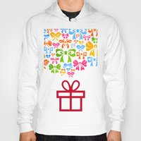 gift card Hoodies featuring Gift by aleksander1
