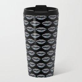 Glowing lip pattern Travel Mug