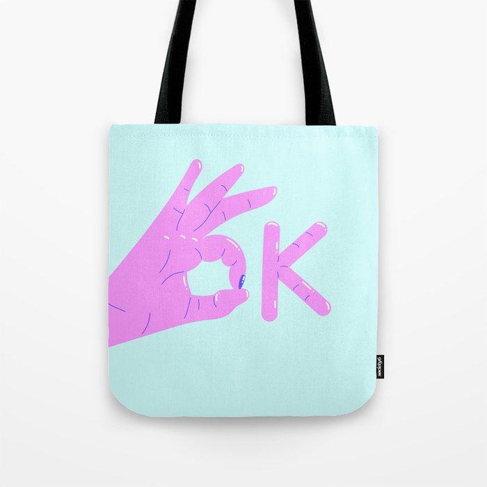 It's alright! – purple version Tote Bag