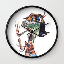 Joint lady Wall Clock