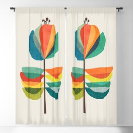 Whimsical Bloom Blackout Curtain
