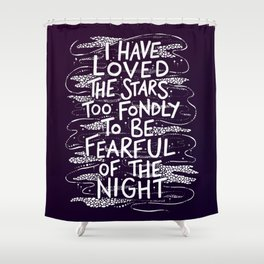 The Stars Shower Curtain