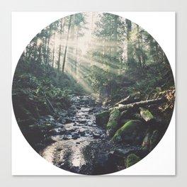 Sunbeam River Canvas Print