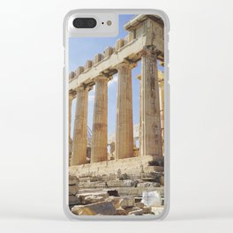 Acropolis Clear iPhone Case