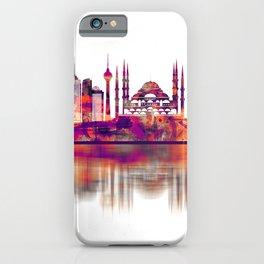 Istanbul Turkey Skyline iPhone Case