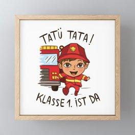 Tatu Tata The 1st Class Is There Present Framed Mini Art Print