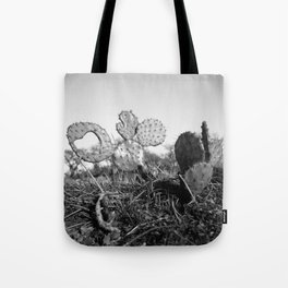 Cactus & The Heart Tote Bag