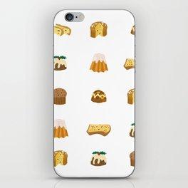 Christmas Cakes iPhone Skin