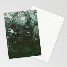 Emerald Gem Stationery Cards