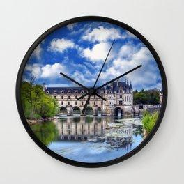 Beautiful Chateau de Chenonceau   Wall Clock