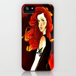 Clary Fray from The Mortal Instruments by Cassandra Clare iPhone Case