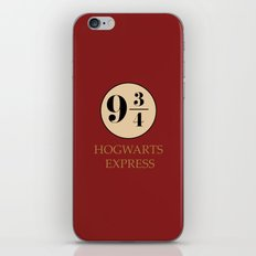 Hogwarts Express - Platform 9 3/4 iPhone & iPod Skin