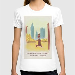 Houses of Parliament Westminster London T-shirt