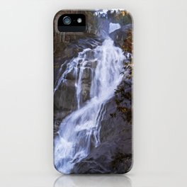 Tranquility Of Creation - Waterfall Art iPhone Case
