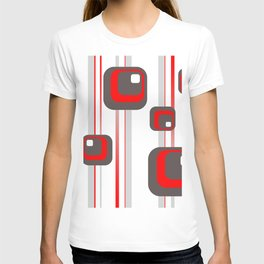 Vintage Retro Graphic white T-shirt