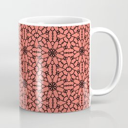 Peach Echo Lace Coffee Mug