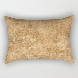 Desert Mist Oil Painting Color Accent Rectangular Pillow