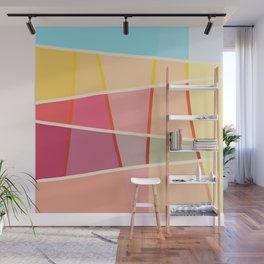 Colorful Design Sunshine Wall Mural