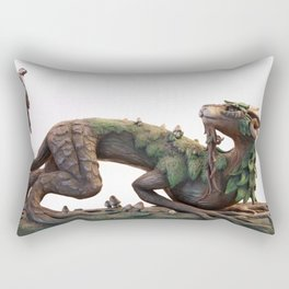 The Summer Tree Dragon Rectangular Pillow