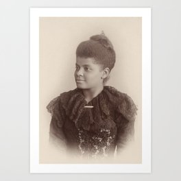 Ida B. Wells, 1893 Art Print