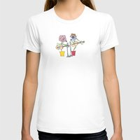 woodstock T-shirts featuring Woodstock Garden by Michele Baker