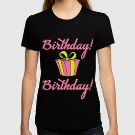 Awesome Birthday Gift Birthday present party Anniversaire child birth T-shirt