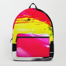 Funky colors abstract Backpack