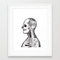 gorillaz Framed Art Prints featuring Demon Days ~ A. by Sára Szabó