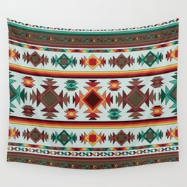 Aztec Pattern 2 Wall Tapestry