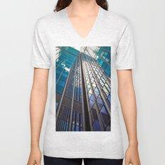 Glass Tower Unisex V-Neck
